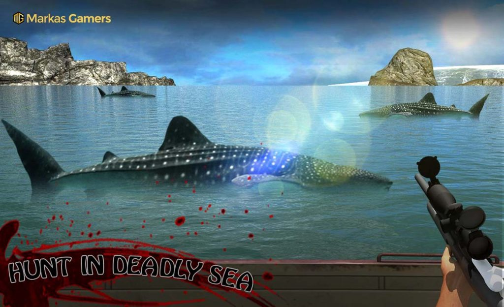 kill whale game ikan