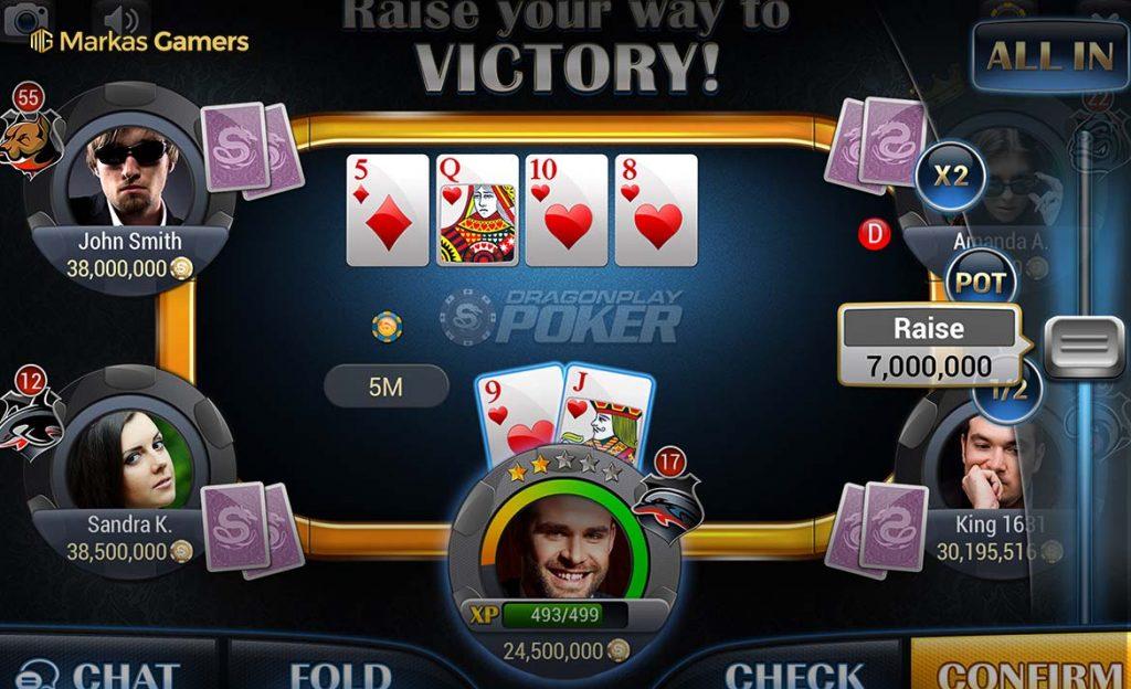 live game poker