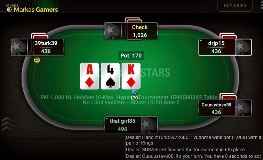 game pokerstars