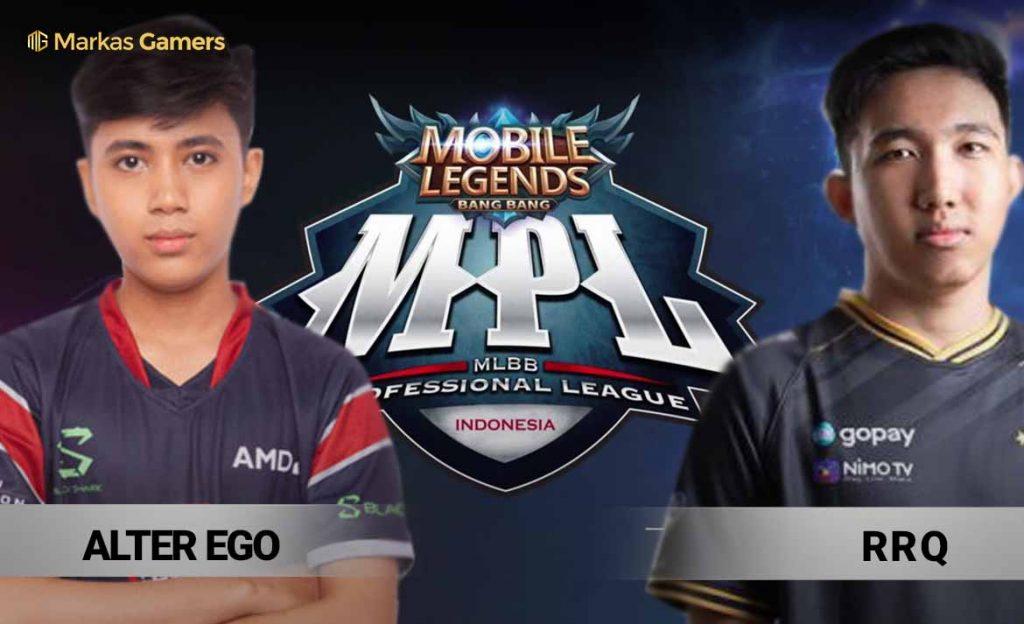 hasil RRQ vs AE MPL week 6