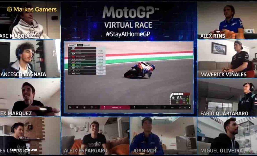 partisipan motogp virtual race