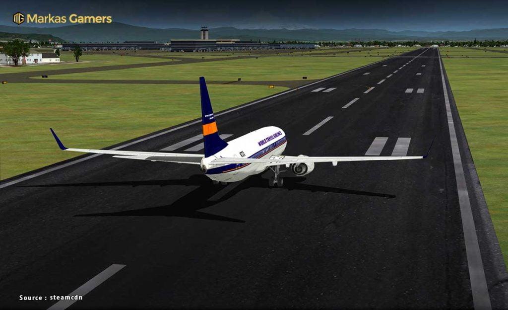 grafik flight simulator