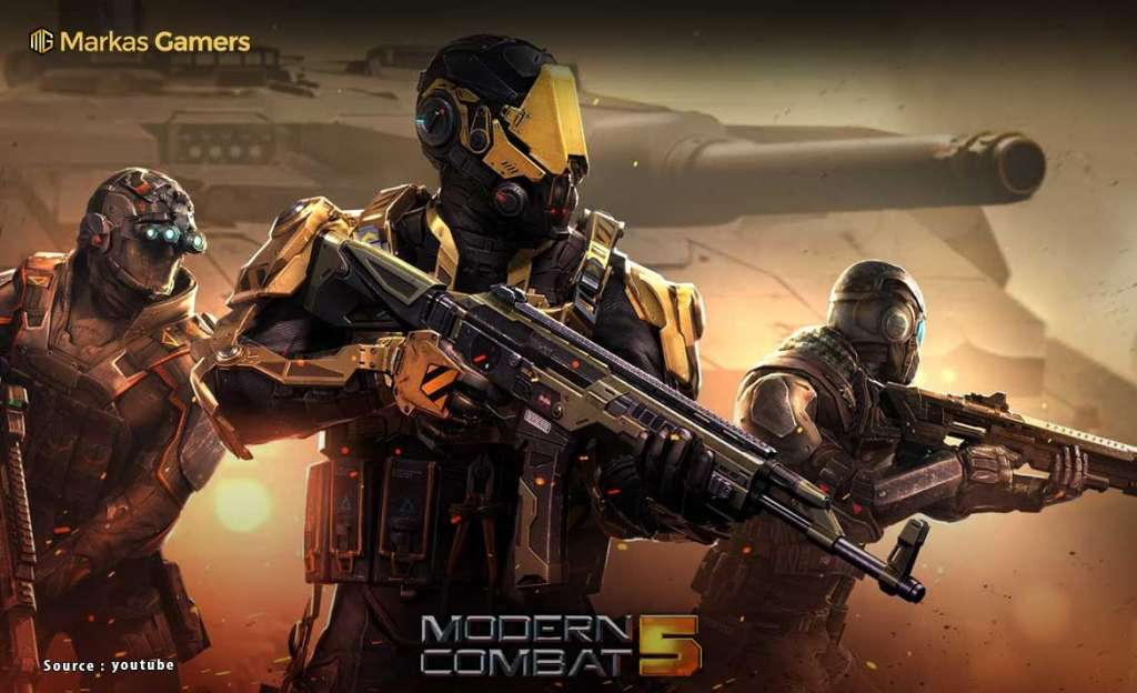 game perang modern android