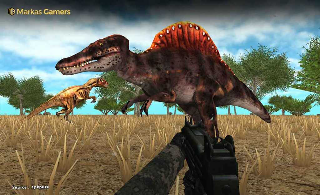 Dinosaur Era: African Arena game dinosaurus