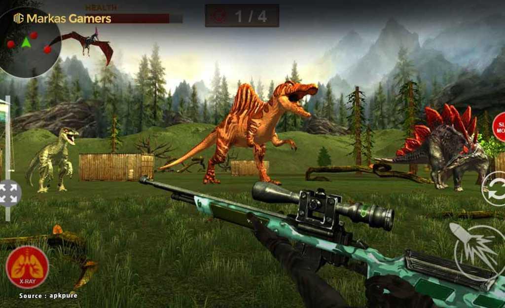 Dinosaur Hunt - Game Dinosaurus