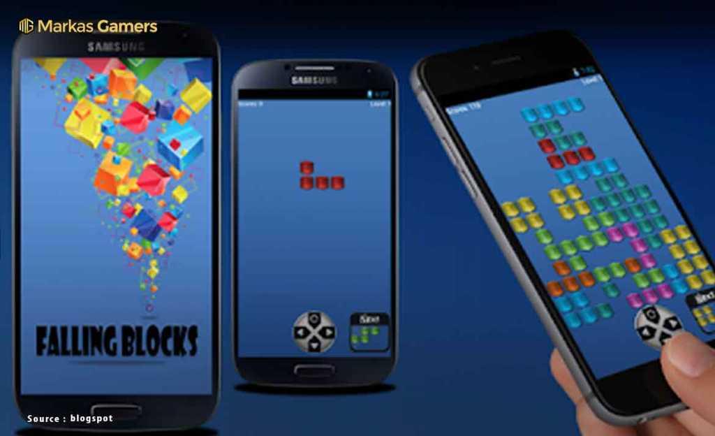 Classic Block Falling - Game Tetris